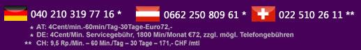 Telefonsex Nummern für Seitensprung